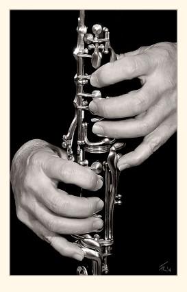 Clarinetista. Paco Rocha