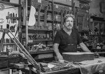 Jose Romero, Luthier. Rafael Sánchez