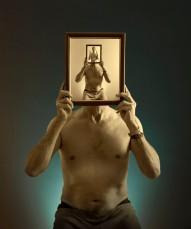 Autorretrato con espejo. Paco Rocha