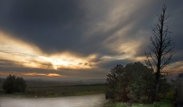 Vista desde la Viña S. Cayetano (Jerez)