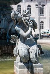 Detalle fuente Plaza del Rossio - R.Sánchez