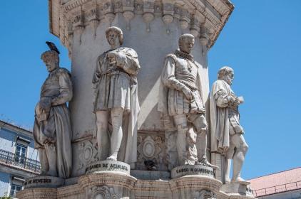 Detalle monumento Luis de Camoes - R.Sánchez