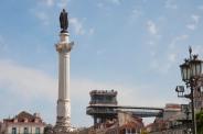 Santa Justa desde Plaza Rossio - R.Sánchez