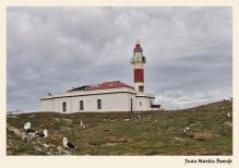 Faro de Isla Magdalena.Estrecho de Magallanes. . Juan M. Beardo