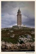 Faro de la Torre de Hercules - La Coruña. . Juan M. Beardo