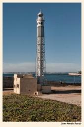 Faro de San Sebastian- Cádiz. Juan M. Beardo