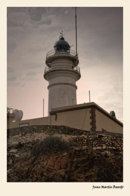 Faro del Cabo de Gata 2. Juan M. Beardo