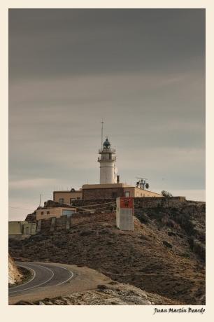 Faro del Cabo de Gata. Juan M. Beardo