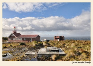 Faro del cabo de Hornos- Patagonia. Juan M. Beardo