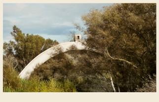 """Sifones sobre los ríos Guadalete y Majaceite. Conocidos en el lugar como """"las Morcillas"""""""