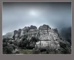 Niebla en el Torcal de Antequera. Paco Rocha