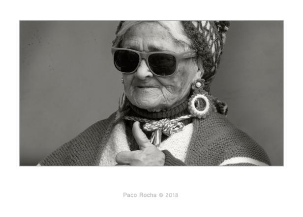 Carnaval, Cádiz, anciana, retrato