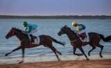 Carreras de caballos en Sanlúcar - Rafael Sánchez