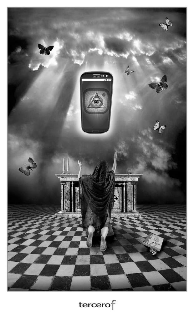 tercero efe terceroefe rocha sanchez beardo perez idolo movil adoracion idolatria tecnologia