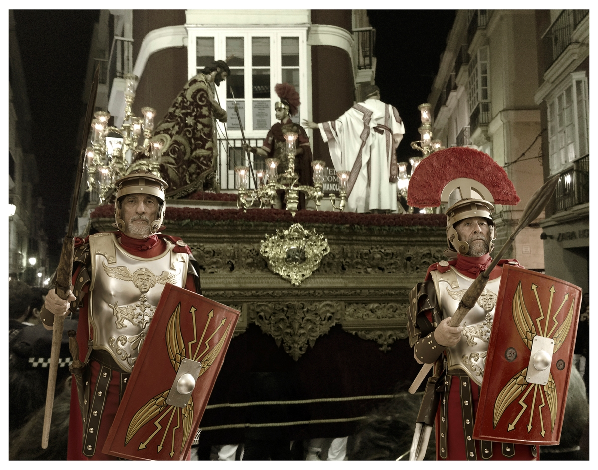 romanos beardo rocha sanchez perez tercero efe terceroefe semana santa coraza centurion ecce homo cadiz