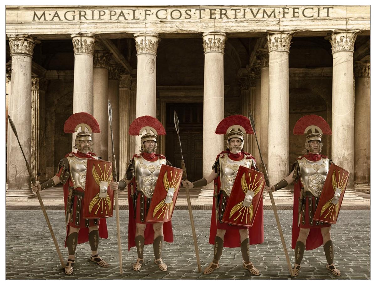 romanos beardo rocha sanchez perez tercero efe terceroefe semana santa coraza centurion panteon roma